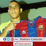 Presentazione di Ronaldo al Barcellona. © Edited by MATTEO CALAUTTI