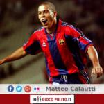 Ronaldo con la maglia del Barcellona. © Edited by MATTEO CALAUTTI