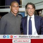Ronaldo con Massimo Moratti. © Edited by MATTEO CALAUTTI