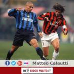 Ronaldo contro Paolo Maldini nel derby di Milano. © Edited by MATTEO CALAUTTI