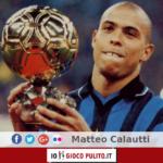 Ronaldo ed il suo primo Pallone d'Oro. © Edited by MATTEO CALAUTTI