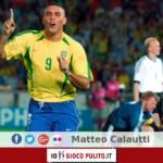 Esultanza di Ronaldo in finale dei Mondiali di Giappone e Corea del Sud 2002. © Edited by MATTEO CALAUTTI