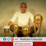 Ronaldo ed i suoi trofei. © Edited by MATTEO CALAUTTI
