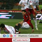 Infortunio di Ronaldo contro il Livorno. © Edited by MATTEO CALAUTTI