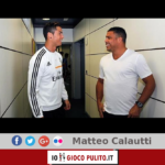 Cristiano Ronaldo e Ronaldo il Fenômeno. © Edited by MATTEO CALAUTTI