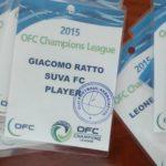 Pass di Giacomo Ratto per la OFC Champions League. © GIACOMO RATTO