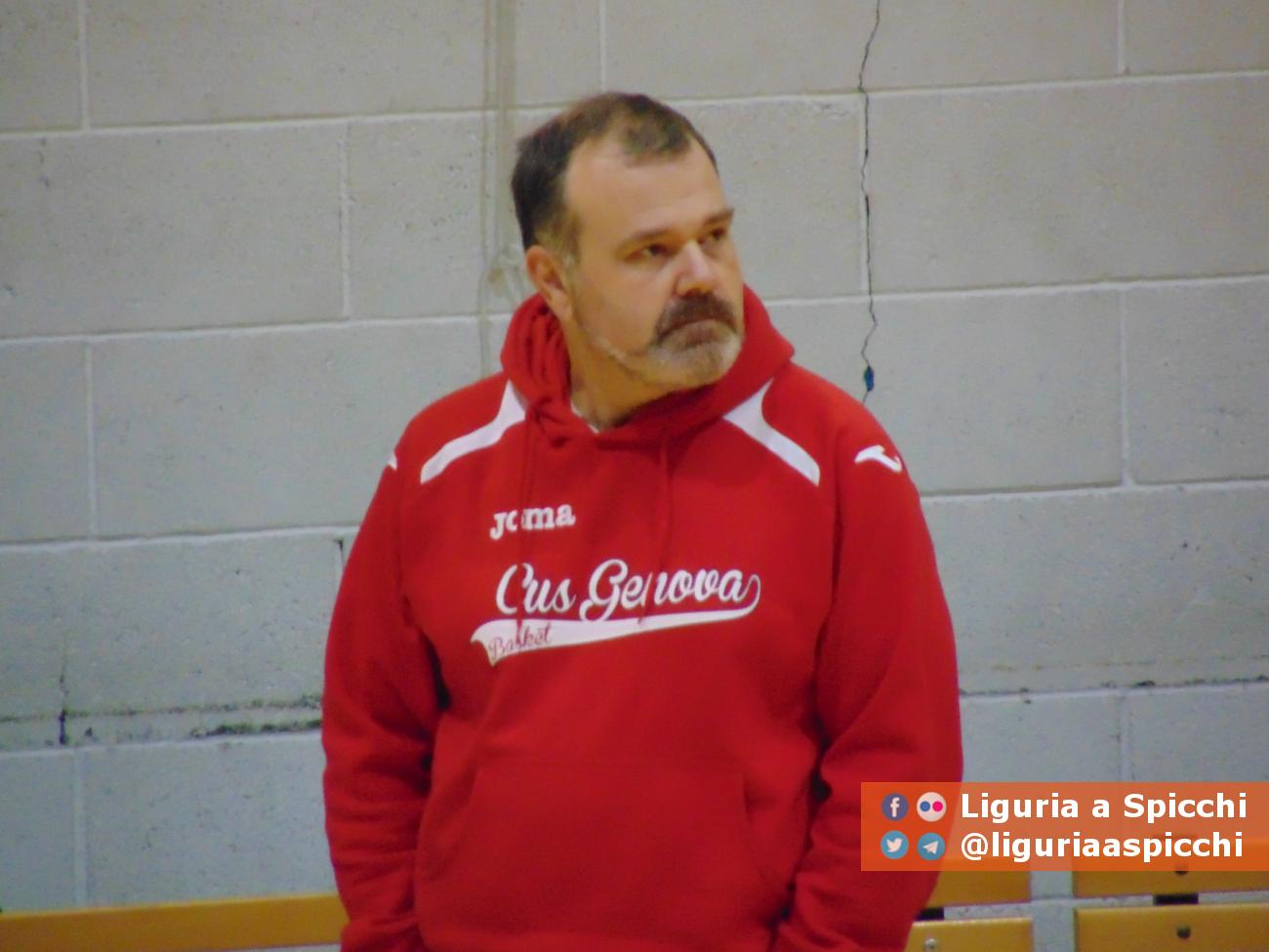 Coach Giovanni Pansolin© LIGURIA A SPICCHI