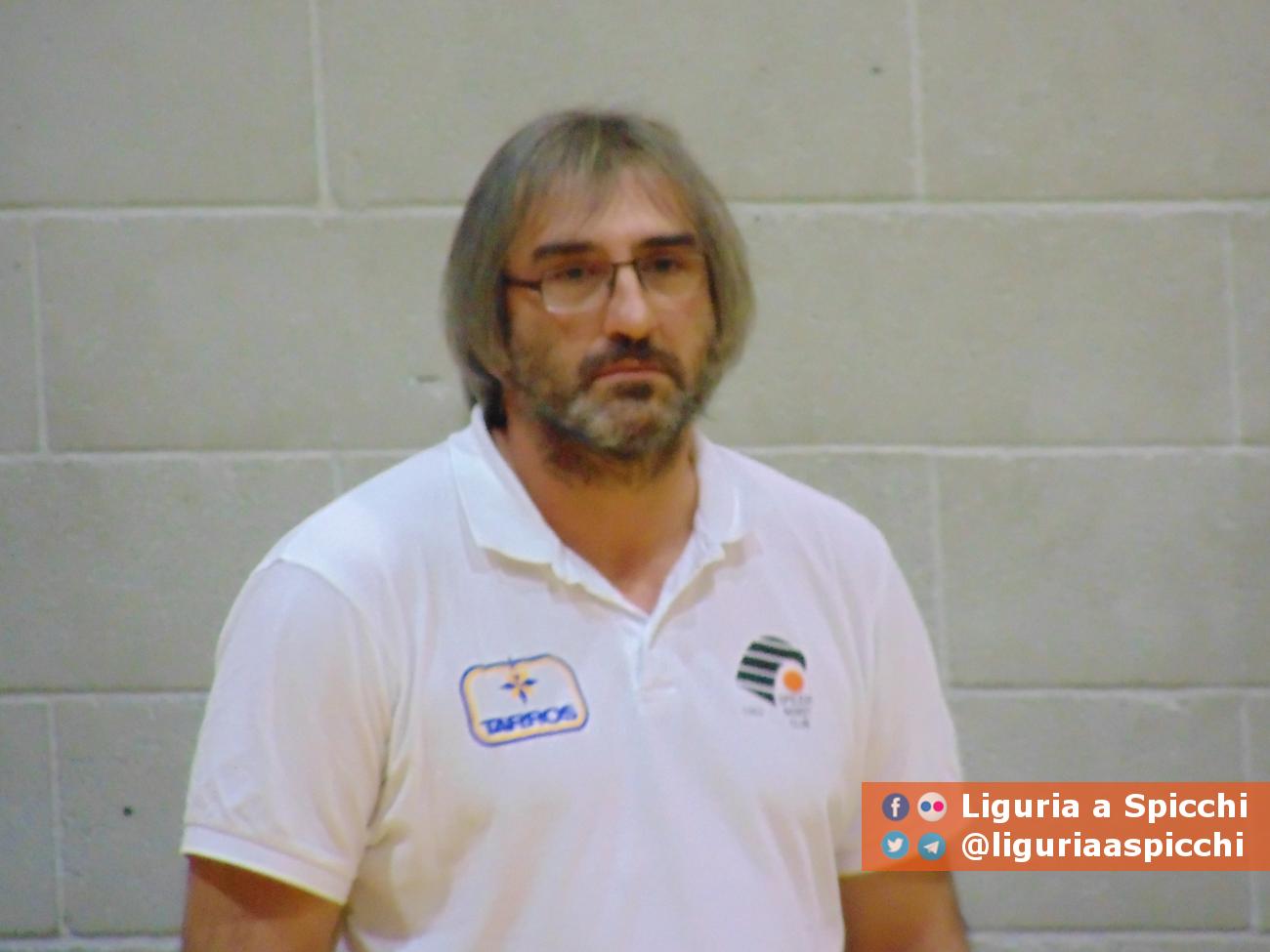Coach Michele Bertieri© LIGURIA A SPICCHI