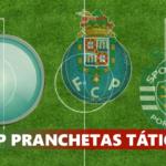 #iCP PRANCHETAS TÁTICAS – Porto vs Sporting Lisbona 2-1