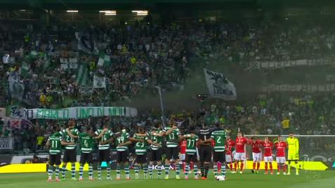 Omaggio dell'Estádio José Alvalade a Marco Ficini © PRIMEIRA LIGA