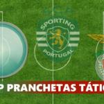 #iCP PRANCHETAS TÁTICAS – Sporting Lisbona vs Benfica 1-1