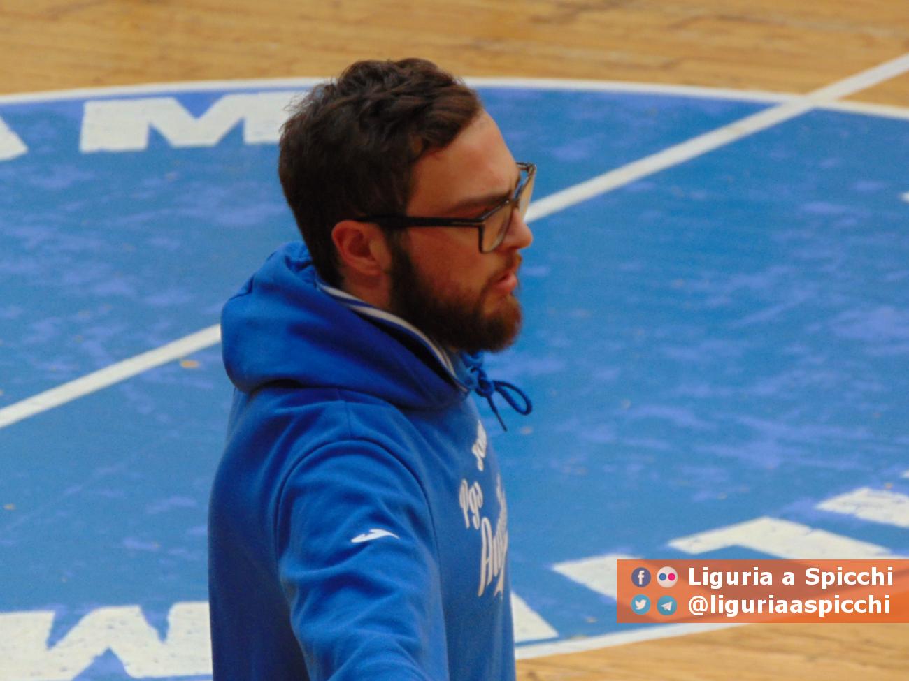 Coach Matteo Barbieri © LIGURIA A SPICCHI