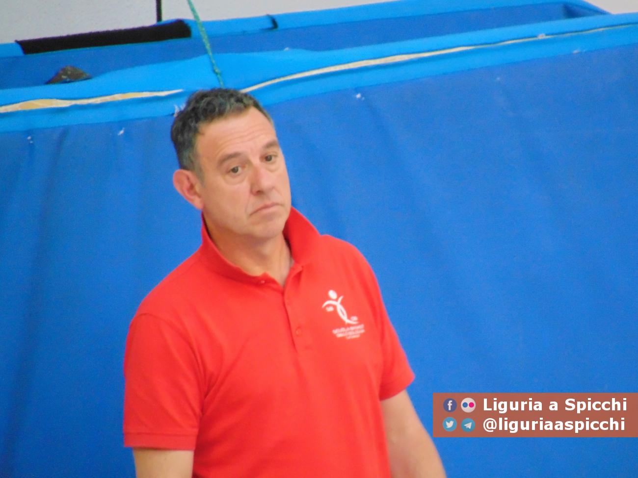 Coach Piero Grassi © LIGURIA A SPICCHI