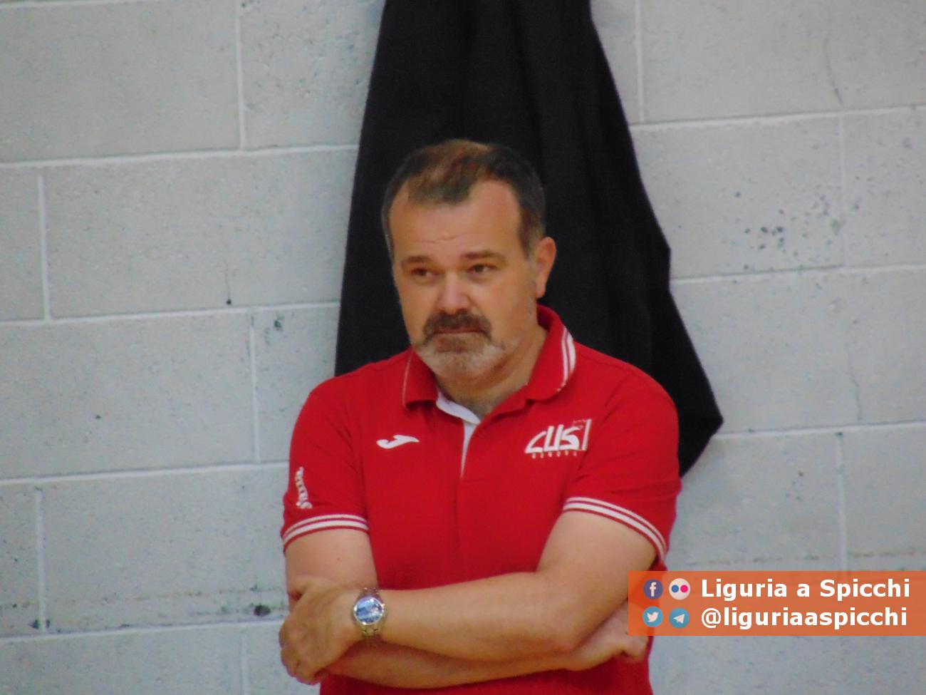 Coach Giovanni Pansolin © LIGURIA A SPICCHI