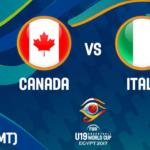 Presentazione e live streaming della finale del Mondiale U19 tra il Canada e l'Italia di Oxilia (VIDEO)