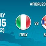 Presentazione e live streaming della sfida dell'Europeo U20 tra Italia e Serbia (VIDEO)