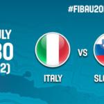 Presentazione e live streaming della sfida dell'Europeo U20 tra Italia e Slovenia (VIDEO)