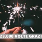 In arrivo il secondo capodanno dall'apertura del sito: semplicemente grazie!