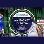 SERIE D – Prima storica diretta streaming: MY Basket vs Loano sulla pagina Facebook dei genovesi (VIDEO)