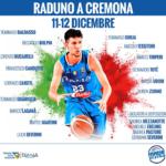 C'è un ligure tra i convocati di coach Sacchetti per il raduno in Nazionale a Cremona: Tommaso Oxilia