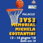 #DUETIRI – Torneo 3vs3 Memorial Michela Costantini al PalaCUS il 13/14 giugno