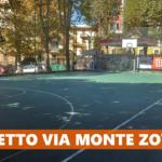 Lavori al CUS Genova in Via Monte Zovetto: due metà campo regolamentari per il basket