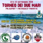 SERIE D – Il MY Basket parteciperà al Torneo dei Due Mari a Marotta il 22 e 23 settembre