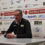 SERIE A2 – Coach Dell'Agnello: «Mi piace un sacco la mia squadra, il palazzetto pieno ci rende felici» (VIDEO)