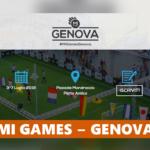 #DUETIRI – Tornano tra il 3 e il 7 giugno i MI Games a Genova