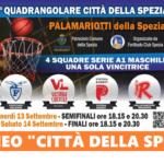 """Domani il primo storico Quadrangolare """"Città della Spezia"""": impegnate quattro squadre di Serie A1"""
