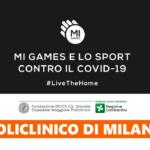 """""""Nomi, Cose e Città"""" dei Mi Games: raccolta fondi per il Policlinico di Milano"""