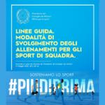 """FIP LIGURIA – Pubblicate dal Governo le """"Linee guida"""" per sport di squadra e di base"""