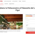 La pallacanestro al PalaFigoi rischia di scomparire: firmate la petizione!